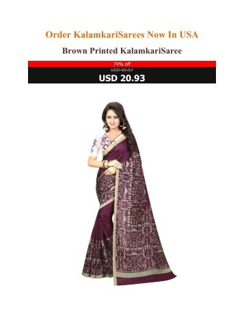 Order_Kalamkari_Sarees_Now_In_USA