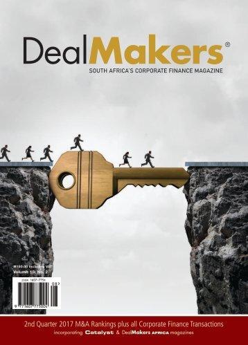 DealMakers 2nd Quarter 2017