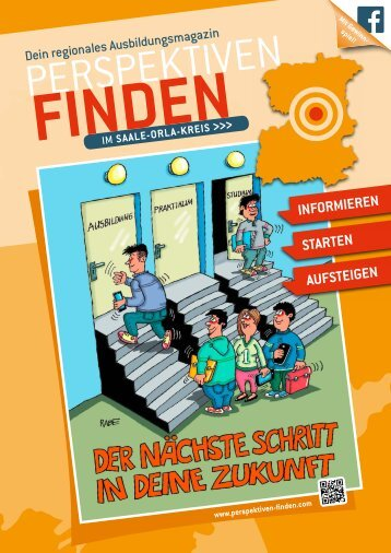 Lehrstellenbörse / Magazin Saale-Orla-Kreis (SOK) in Thüringen