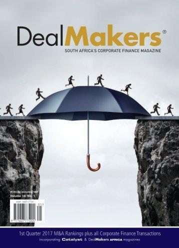 DealMakers 1st Quarter 2017