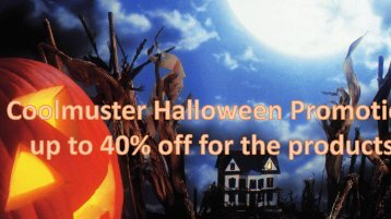 Coolmuster Halloween Promotion-up to 40% off
