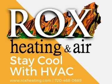 Stay Cool With HVAC