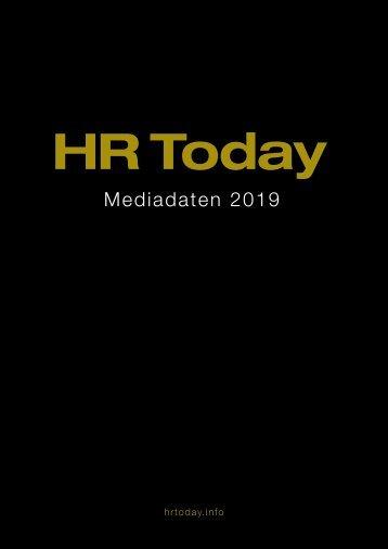 HR Today Mediadaten 2018