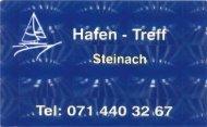 Hafen - Treff Steinach