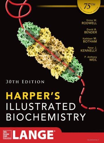 Harpers Illustrated Biochemistry 30th Edition {Bindaredundat}