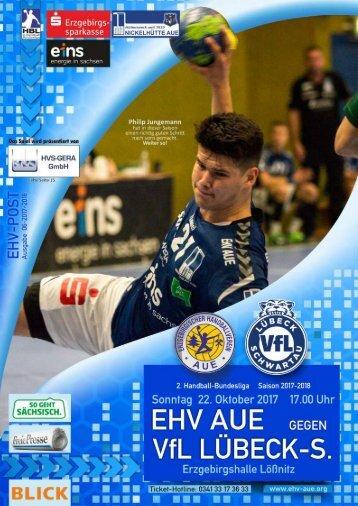 EHV-Post: EHV Aue gegen VfB Lübeck-Schwartau