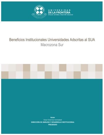 Beneficios Institucionales Universidades Adscritas al SUA