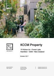 Property Report A4 2