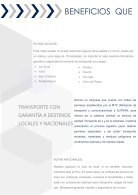 BROCHURE SECTOR TRANSPORTE DE CARGA - Page 6