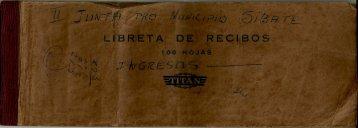 Libreta de Recibos