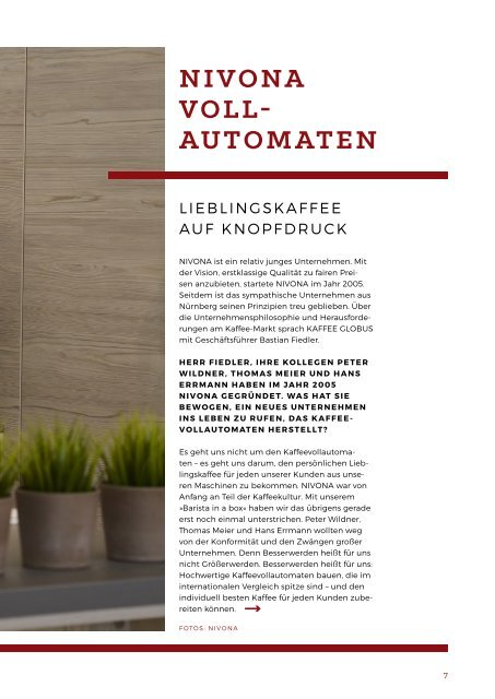 Kaffee Globus - Ausgabe 4 PRE
