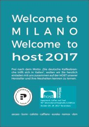 Welcome to Milano - Welcome to Host 2017