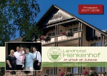 Prospekt Landhotel-Henkenhof 2017/2018