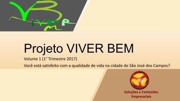 Projeto VIVERBEM_Trimestre1 2017_Vol.1