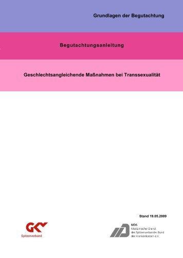 26-begutachtungsanleitung-geschlechtsangleichende-massnahmen-bei-transsexualitaet-mds