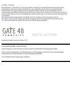 GateNewsletter Oktober - Seite 2