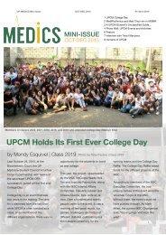 Medics Mini-Issue 2015