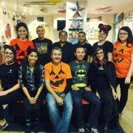 Dentist and his team at Kids Dental Center