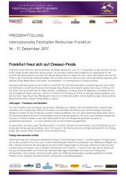 2017-09-12 Frankfurt freut sich auf Dressur-Finals