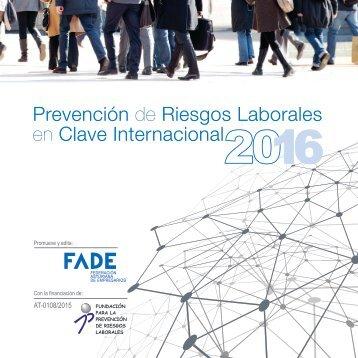 Prevención de Riesgos Laborales en clave internacional 2016. (1)