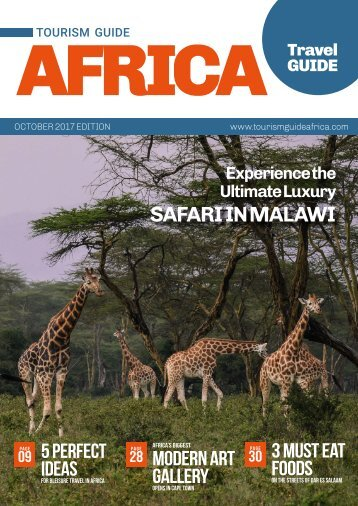 Tourism Guide Africa Travel Guide October 2017 Edition