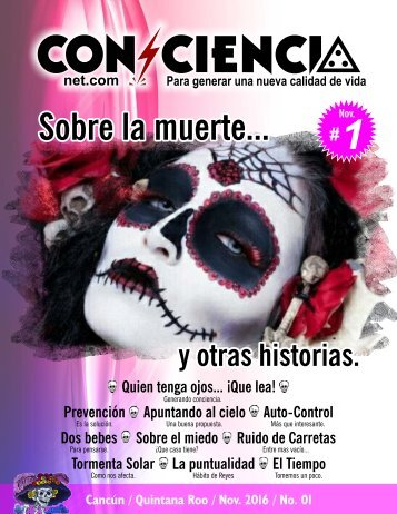 REVISTA DIGITAL #01 YoConciencia.com NOVIEMBRE 2016