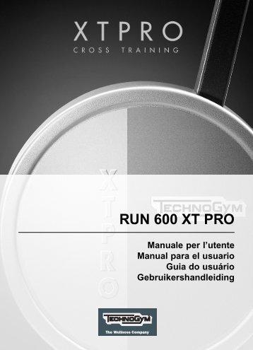 TechnoGym Run XT Pro Brochure