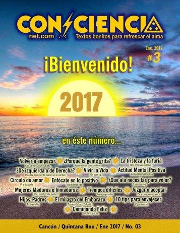 REVISTA DIGITAL #03 YoConciencia.com ENERO 2017