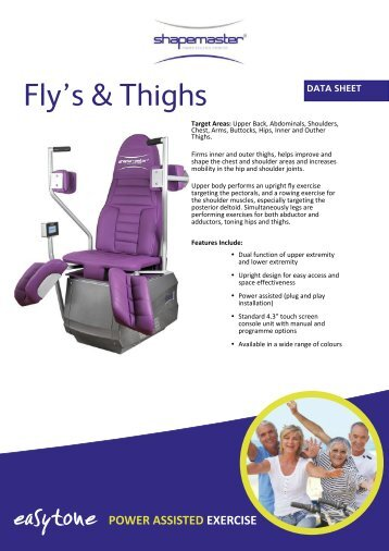 ShapeMaster Easytone Fly and Thigh