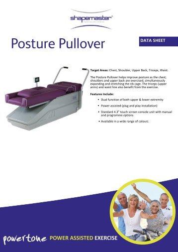 ShapeMaster Powertone Posture Pullover