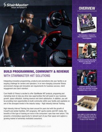 StairMaster HIIT Brochure 2017