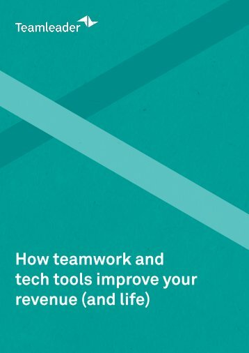 Teamleader Ebook Teamwork