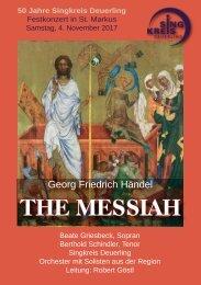 Messiah Programmheft Prag