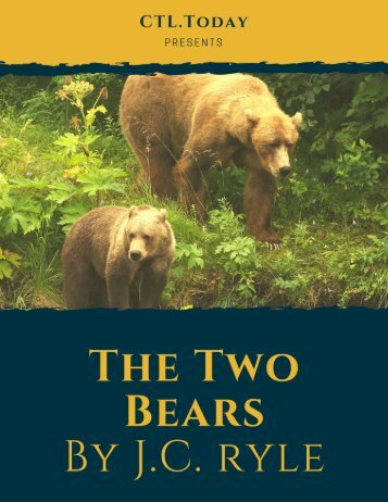 The Two Bears by  J. C.  Ryle