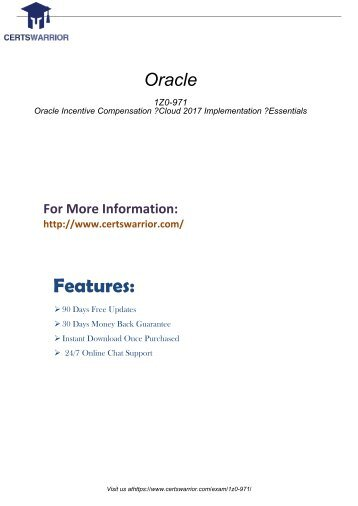 1Z0-971 Practice Software