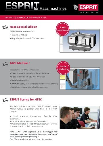 Flyer_ESPRIT_for_Haas Machines_EN