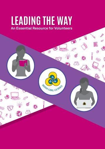 Irish Girl Guides LTW Leaders Manual Oct 2017