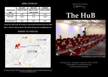 Hub Brochure printing version x