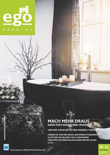 ego Magazin Trier & Mosel - Sonderausgabe - Bauen & Wohnen - Ausg.16