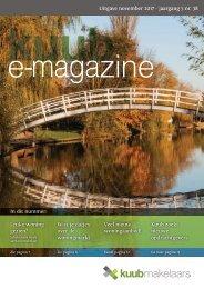 Kuub E-magazine #38, jaargang 5, november 2017
