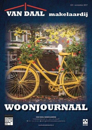 Van Daal Woonjournaal #23,november 2017