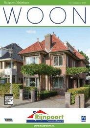 Rijnpoort Makelaars WOON magazine #41, uitgave november 2017