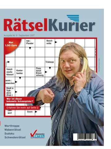 RätselKurier September