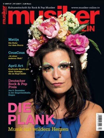 Musiker Magazin 3/2017