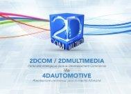 Catalogue 2DCOM/2DMULTIMEDIA français