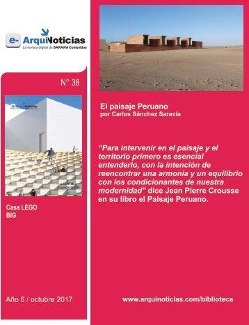 e-AN 38 nota 4 El paisaje peruano por Carlos Sánchez Saravia