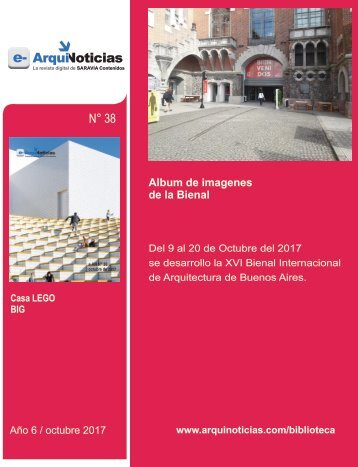 e-AN 38 nota 6 Album de imagenes de la Bienal