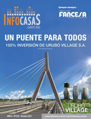 Revista InfoCasas Bolivia - Octubre 2017