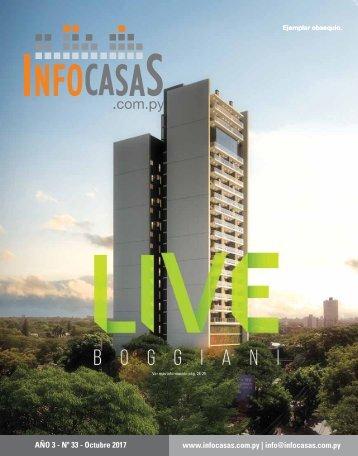 Revista InfoCasas Paraguay - Octubre 2017