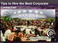 Tips to Hire the Best Corporate Comedian
